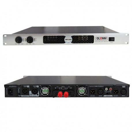 Amplificatore 2x 500W Rms 8Oh digitale