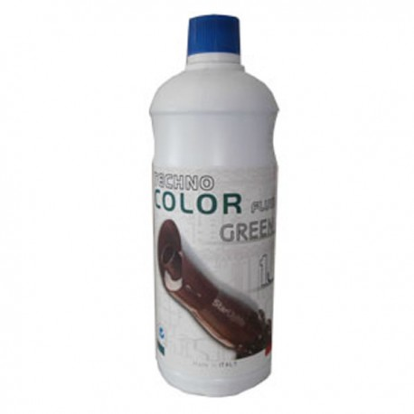 Techno Foam Fluid Color Green 1000ml Colorante schiuma