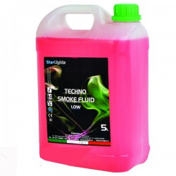 Techno Smoke Fluid Low Fog 5kg Liquido fumo basso