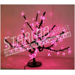 Ciliegio bonsai luminoso led Dim.48 cm Colore Pink