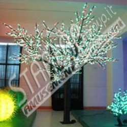 Ciliegio luminoso H: 250 cm Led Multicolor
