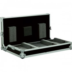 Flight Case per 2 CD600 + Mixer