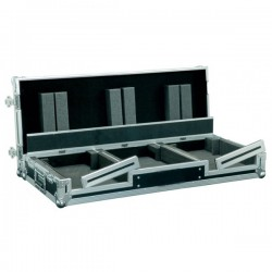 Flight Case per 2 CDJ + Mixer