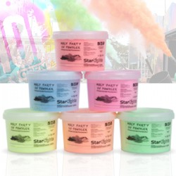 KIT 06 Box da 2Kg Holi Powder - Blue Fucsia Green Orange Red Yellow - Polvere da lancio