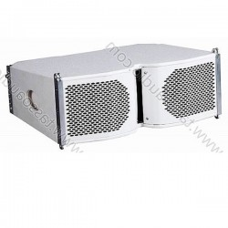 "Sistema Line Array 2 vie Full Range 2x6.5"" - 2"" - Horn"