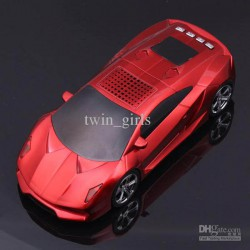 Super Car Mini Speaker Lettore USB