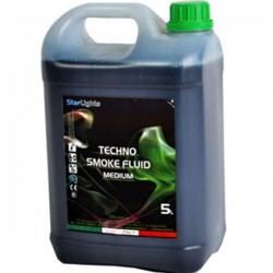 Techno Smoke Fluid Medium 5kg Liquido fumo