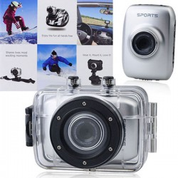Videocamera Digitale Action 720p HD Touch Screen