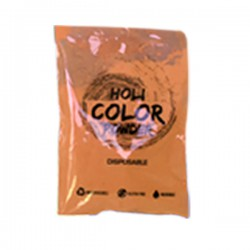 Holi Powder Monodose Orange 80gr FLUO Polvere da lancio