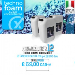 PROMO - Foam Fluid Super Concentrated 20kgx12PZ