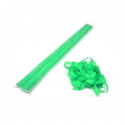 Tubo 30 stelle filanti carta Verde ignifugo 1cmx15mt - Tube of stars streamers Green card Blister